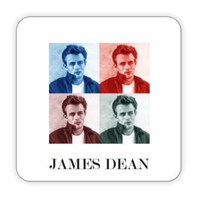 Костер (подставка под кружку) Джеймс Дин James Dean