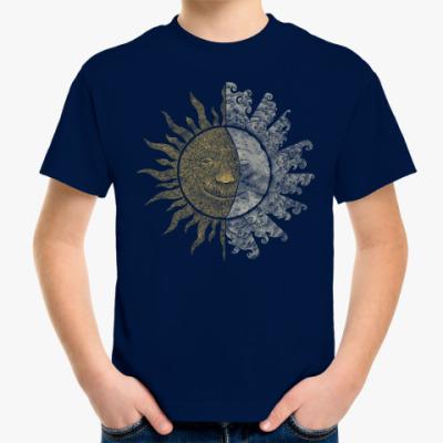 Детская футболка Солнце и Луна