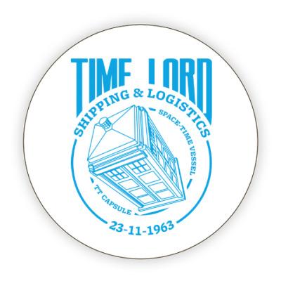 Костер (подставка под кружку) Time Lord