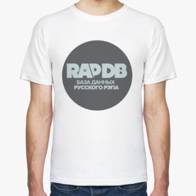 Футболка RapDB (серый лого)