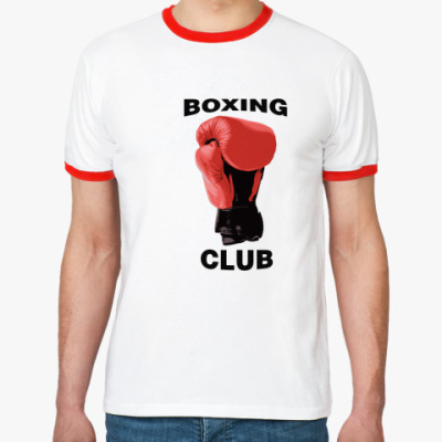 Футболка Ringer-T boxing club