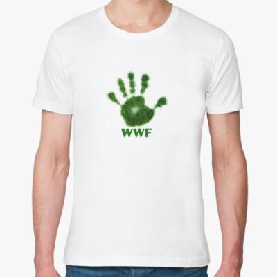Футболка из органик-хлопка WWF. Дай пять!