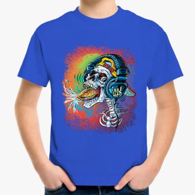 Детская футболка Rock Skull