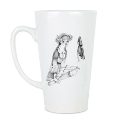 Чашка Латте Милая танцовщица