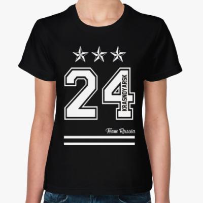 Женская футболка Красноярск