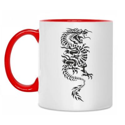 Кружка Японский дракон
