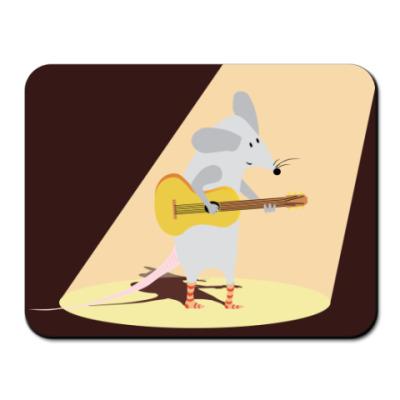 Коврик для мыши  гитарист