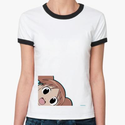 Женская футболка Ringer-T  азуманга