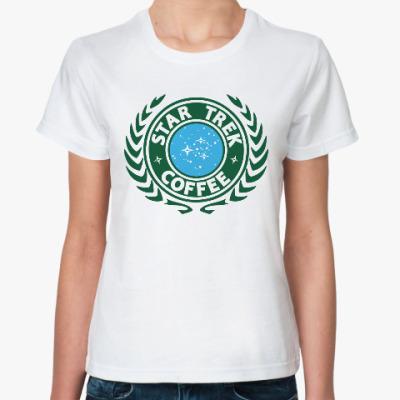 Классическая футболка Звёздный путь