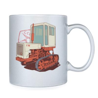 Ретро трактор Т70