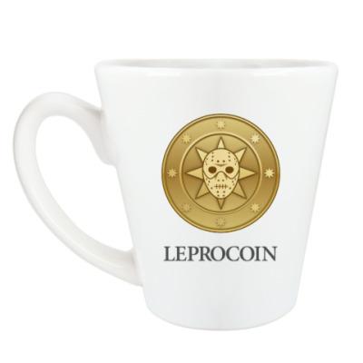 Чашка Латте Leprocoin