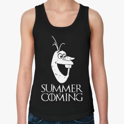 Женская майка Summer is coming