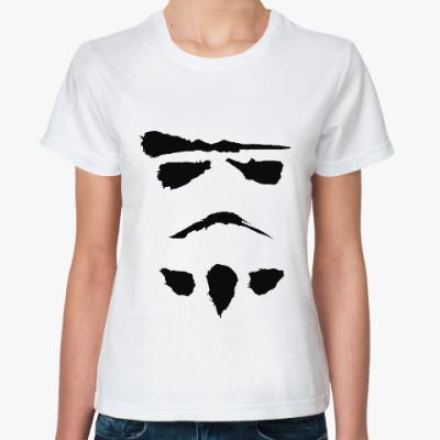 Классическая футболка минималистичный штурмовик