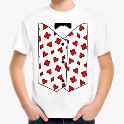 Детская футболка Жилет ж.1