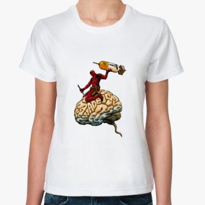 Классическая футболка deadpool