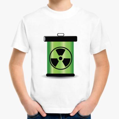 Детская футболка радиация