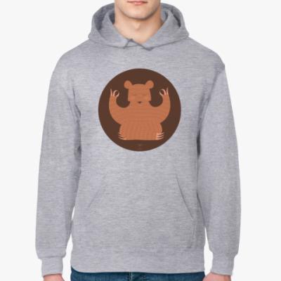 Толстовка худи Animal Zen: B is for Bear