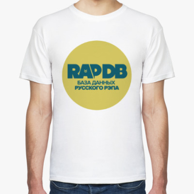 Футболка RapDB (зелёный лого)