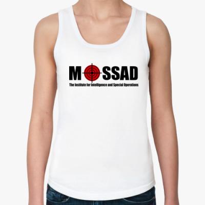 Женская майка Mossad