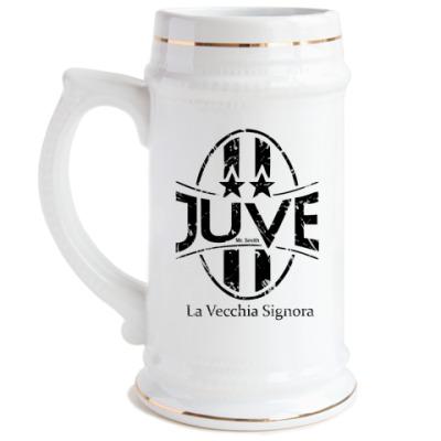 Пивная кружка Juventus