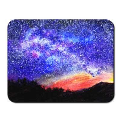 Коврик для мыши Starry Night Sky