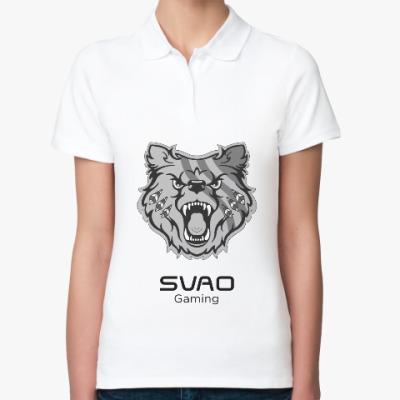 Женская рубашка поло SVAO Gaming