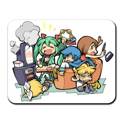 Коврик для мыши Vocaloids #02