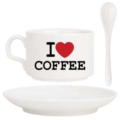 Кофейный набор I Love Coffee