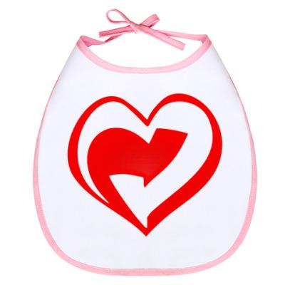 Слюнявчик Слюнявчик Вторичное сердце