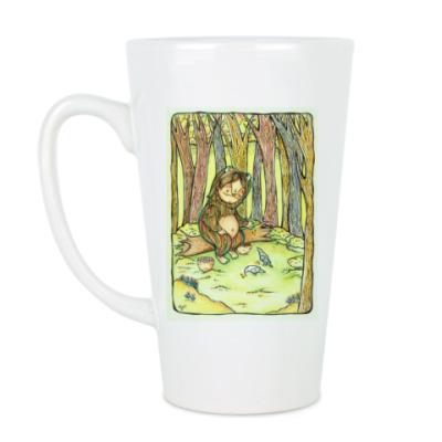 Чашка Латте Лесной тролль