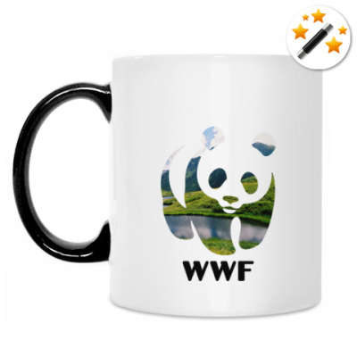 Кружка-хамелеон WWF. Панда. Природа