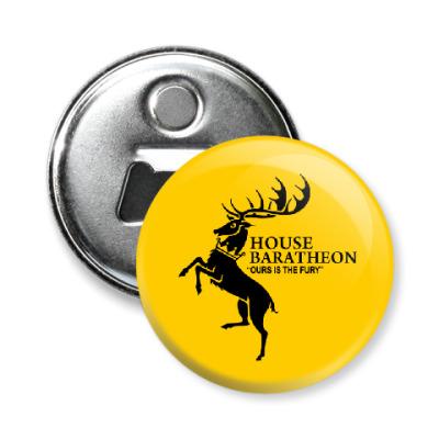 Магнит-открывашка House Baratheon