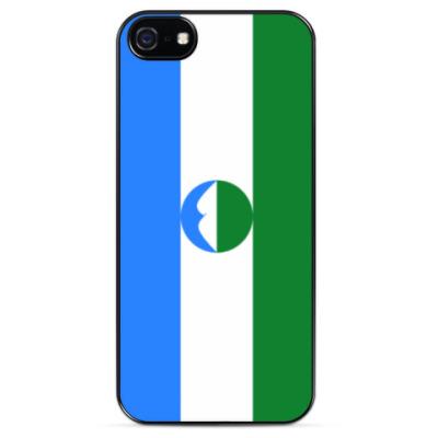 Чехол для iPhone  флаг Кабардино-Балкарии