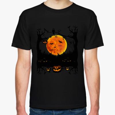Футболка Хеллоуин. Зловещая ночь