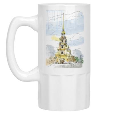 Пивная кружка Петропавловская крепость