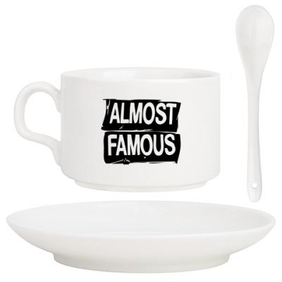 Кофейный набор Надпись ALMOST FAMOUS
