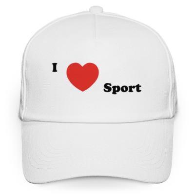 Кепка бейсболка  I love sport