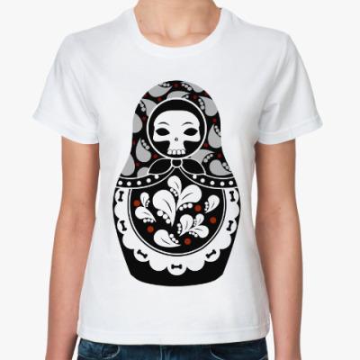 Классическая футболка Русская Матрешка