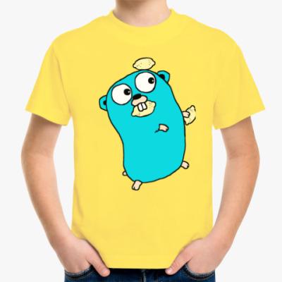 Детская футболка Golang