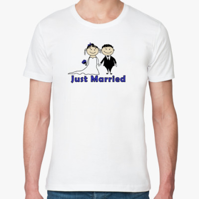 Футболка из органик-хлопка Just Married