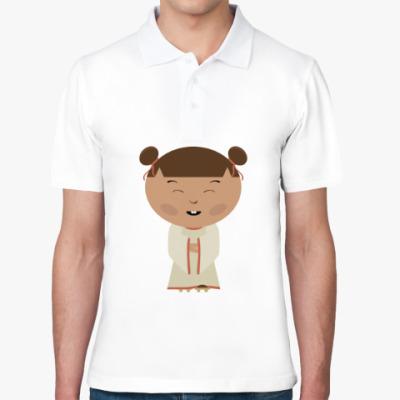 Рубашка поло Японская девочка