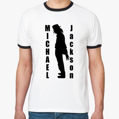 Футболка Ringer-T Michael Jackson