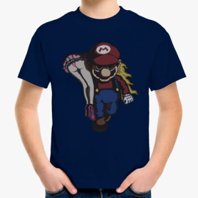 Детская футболка Марио и принцесса