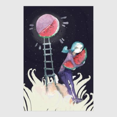 Постер Лунный воришка