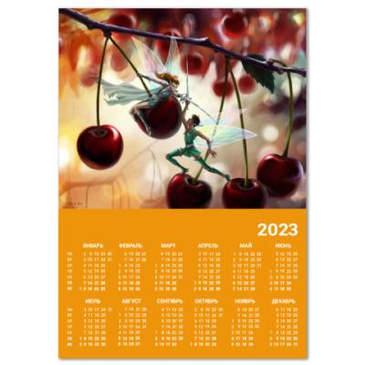 Календарь Вишня