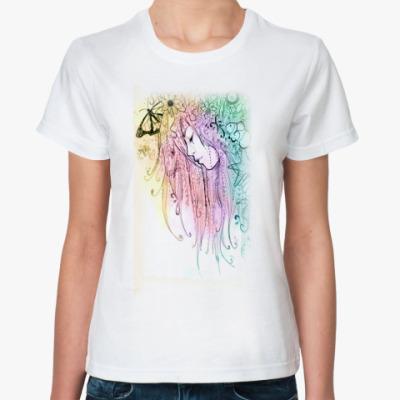 Классическая футболка forest girl
