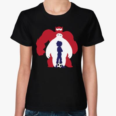 Женская футболка Баймакс (Город Героев)