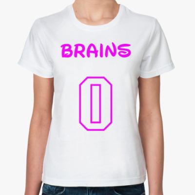 Классическая футболка Zero Brains