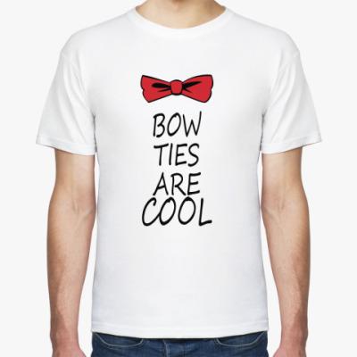 Футболка Bow ties are COOL