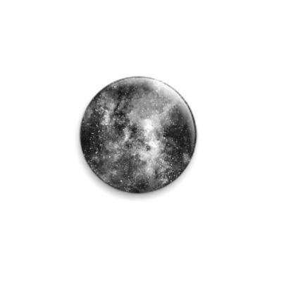 Значок 25мм Космос